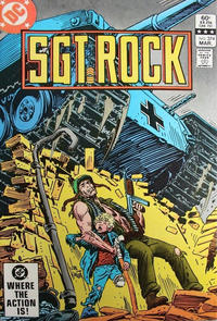 Cover Thumbnail for Sgt. Rock (DC, 1977 series) #374 [Direct-Sales]