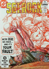 Cover Thumbnail for Sgt. Rock (DC, 1977 series) #375 [Direct]