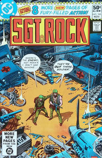 Cover Thumbnail for Sgt. Rock (DC, 1977 series) #346 [Direct Sales]