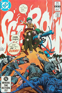 Cover Thumbnail for Sgt. Rock (DC, 1977 series) #376 [Direct]