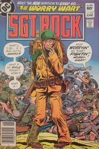 Cover Thumbnail for Sgt. Rock (DC, 1977 series) #377 [Newsstand]