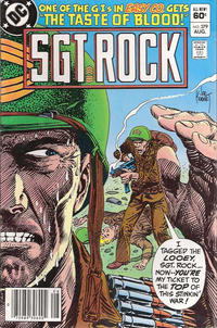 Cover Thumbnail for Sgt. Rock (DC, 1977 series) #379 [Newsstand]