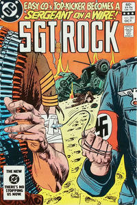 Cover Thumbnail for Sgt. Rock (DC, 1977 series) #381 [Direct]