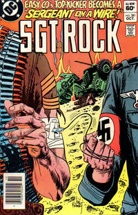 Cover Thumbnail for Sgt. Rock (DC, 1977 series) #381 [Newsstand]
