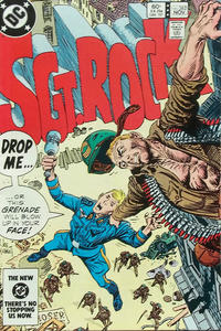 Cover Thumbnail for Sgt. Rock (DC, 1977 series) #382 [Direct]