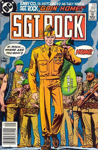 Cover Thumbnail for Sgt. Rock (DC, 1977 series) #392 [Newsstand]