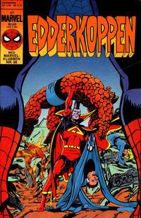 Cover Thumbnail for Edderkoppen (Interpresse, 1984 series) #2/1986