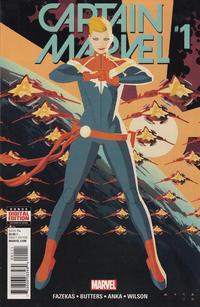 Cover Thumbnail for Captain Marvel (Marvel, 2016 series) #1