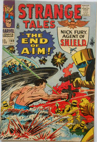 Cover for Strange Tales (Marvel, 1951 series) #149 [Regular Edition]