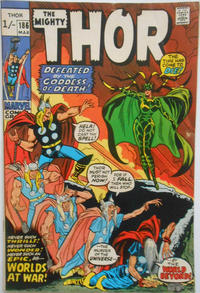 Cover Thumbnail for Thor (Marvel, 1966 series) #186 [British]