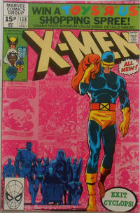 Cover for The X-Men (Marvel, 1963 series) #138 [Direct Edition]
