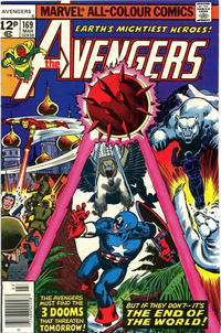 Cover Thumbnail for The Avengers (Marvel, 1963 series) #169 [British]