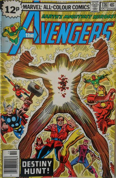 Cover for The Avengers (Marvel, 1963 series) #176 [Regular Edition]
