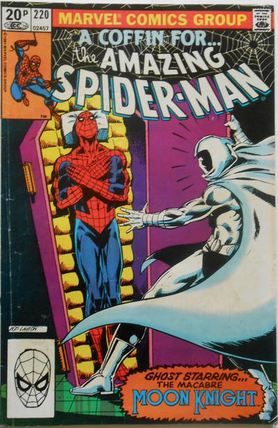 Cover for The Amazing Spider-Man (Marvel, 1963 series) #220 [Direct Edition]