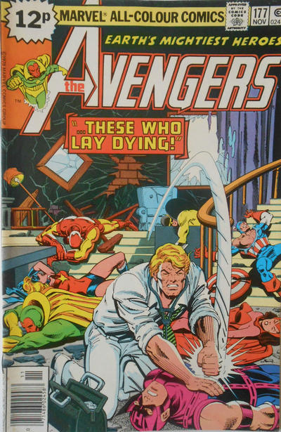Cover for The Avengers (Marvel, 1963 series) #177 [British]