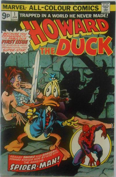 Cover for Howard the Duck (Marvel, 1976 series) #1 [Regular Edition]