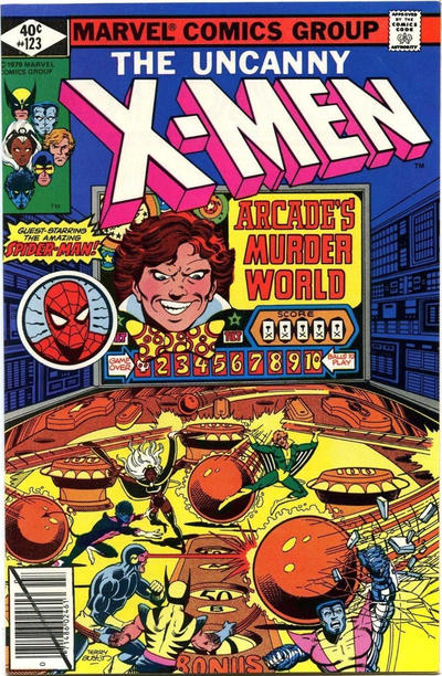 Cover for The X-Men (Marvel, 1963 series) #123 [Direct Edition]