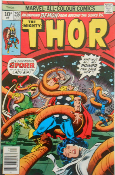 Cover for Thor (Marvel, 1966 series) #256 [Whitman]