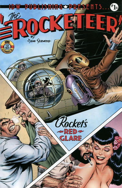 Cover for The Rocketeer: Cargo of Doom (IDW, 2012 series) #1 [Cover RIA Samnee]