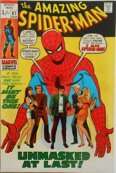 Cover for The Amazing Spider-Man (Marvel, 1963 series) #87 [Regular Edition]