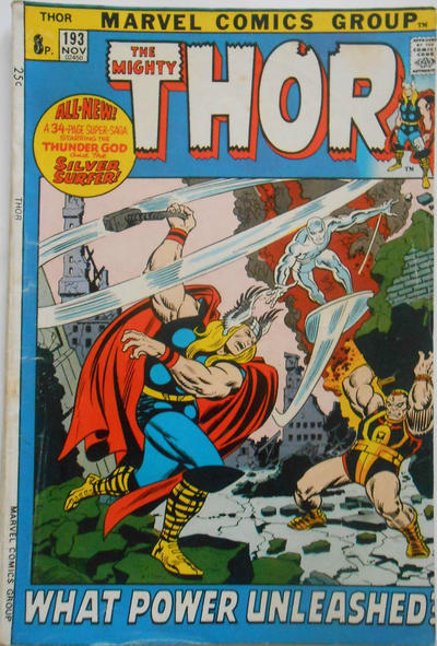 Cover for Thor (Marvel, 1966 series) #193 [Regular Edition]