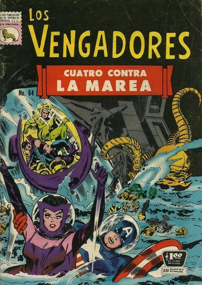 Cover for Los Vengadores (Editora de Periódicos La Prensa S.C.L., 1965 series) #64