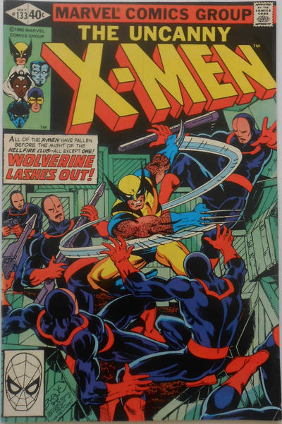 Cover for The X-Men (Marvel, 1963 series) #133 [Direct Edition]