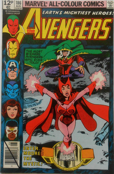 Cover for The Avengers (Marvel, 1963 series) #186 [Direct Edition]