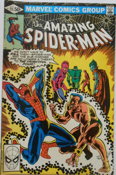 Cover for The Amazing Spider-Man (Marvel, 1963 series) #215 [Direct Edition]