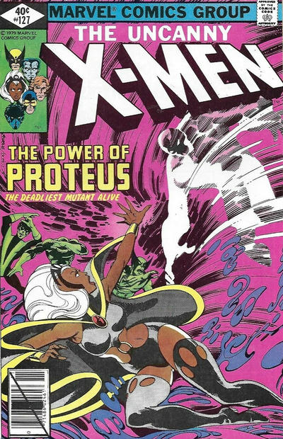 Cover for The X-Men (Marvel, 1963 series) #127 [Direct Edition]