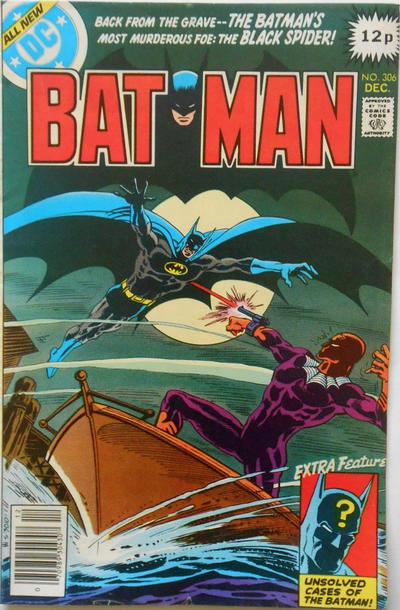 Cover for Batman (DC, 1940 series) #306 [Whitman]