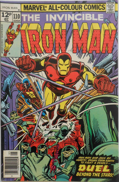 Cover for Iron Man (Marvel, 1968 series) #110 [Regular Edition]