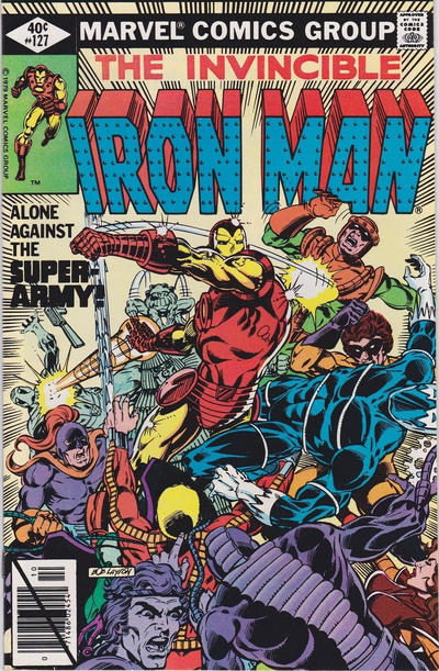 Cover for Iron Man (Marvel, 1968 series) #127 [Direct Edition]