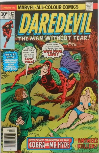 Cover for Daredevil (Marvel, 1964 series) #142 [Regular Edition]