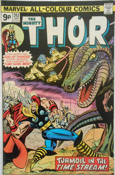 Cover for Thor (Marvel, 1966 series) #243 [Regular Edition]