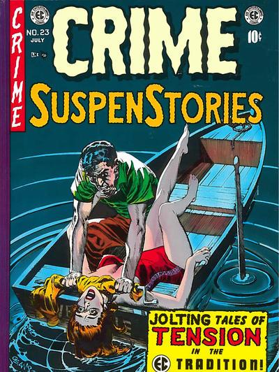 Cover for Crime Suspenstories (Russ Cochran, 1983 series) #5