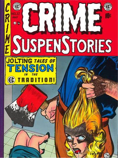 Cover for Crime Suspenstories (Russ Cochran, 1983 series) #4