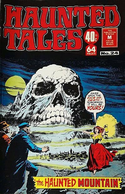 Cover for Haunted Tales (K. G. Murray, 1973 series) #24