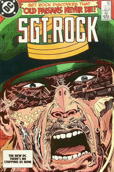 Cover for Sgt. Rock (DC, 1977 series) #384 [Direct]