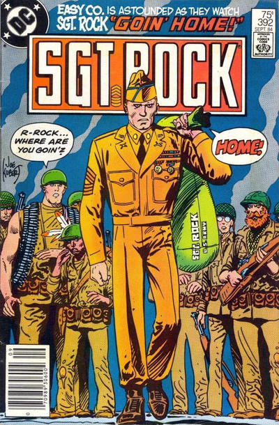 Cover for Sgt. Rock (DC, 1977 series) #392 [Direct]