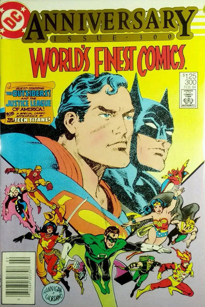 Cover for World's Finest Comics (DC, 1941 series) #300 [Direct-Sales]
