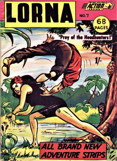 Cover for Action Series (L. Miller & Son, 1958 series) #7