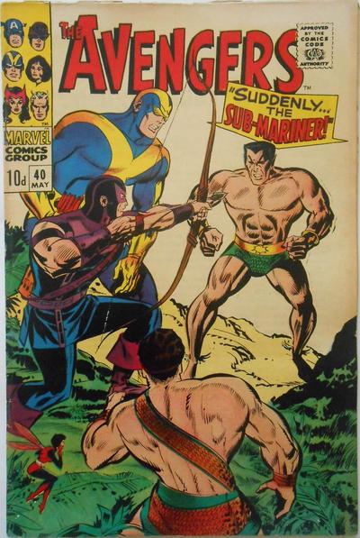 Cover for The Avengers (Marvel, 1963 series) #40 [Regular Edition]