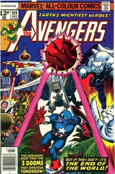 Cover for The Avengers (Marvel, 1963 series) #169 [Regular Edition]