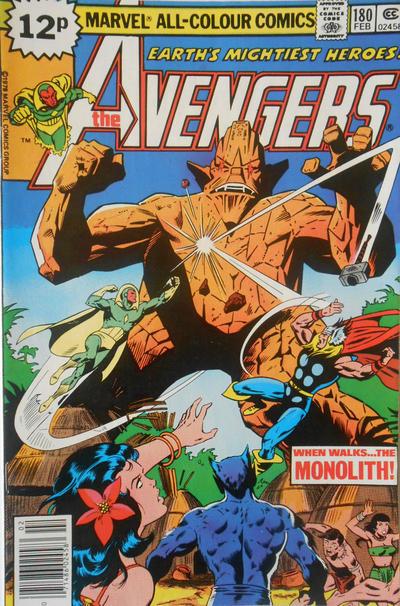 Cover for The Avengers (Marvel, 1963 series) #180 [Regular Edition]