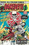 Cover for Daredevil (Marvel, 1964 series) #121 [British Price Variant]