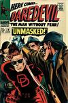 Cover for Daredevil (Marvel, 1964 series) #29 [British Price Variant]