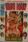Cover for Iron Man (Marvel, 1968 series) #18 [British]