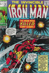 Cover for Iron Man (Marvel, 1968 series) #23 [British Price Variant]
