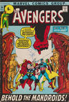 Cover for The Avengers (Marvel, 1963 series) #94 [British Price Variant]
